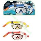 OSPREY ADULT MASK AND SNORKEL SET - blue red yellow snorkelling swimming diving