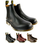 Womens Dr Martens Airwair Leather Chelsea Style Low Heel Ankle Boot UK Sizes 3-8