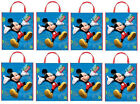 """Disney MICKEY MOUSE  ~ Party Favor TOTE BAGS 13""""x11"""" ~ Pick Quantity You Need ~"""
