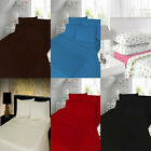 100% Brushed Thermal Flannelet Cotton Fitted /Flat Bed Sheets With Pillow Cases