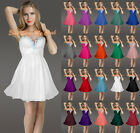 Short/Mini Bridesmaids Dresses Prom/Party Gowns Ball Homecoming Beaded Size 6-26