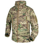 Helikon Gunfighter Tactical Soft Shell Mens Military Hunting Jacket Camogrom