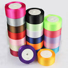 25 Yards Reel Of 4CM Single Sided Satin Ribbon Select Candy Christmas gift decor