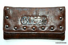 GUESS Suzy Q Vintage Wallet VX227351 Black or Brown Trifold