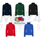 Fleecejacke von Fruit of the Loom Lady-Fit Fleece Jacket *kostenloser Versand*