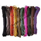 100ft 550lb Paracord Rope Cord Mil Spec Type III 7 Strand Parachute Cord