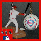 MLB PHILADELPHIA PHILLIES RYAN HOWARD & PHOTO BASEBALL/HELMET CEILING FAN PULLS on Ebay