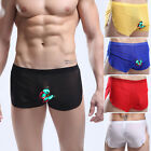 SEXY Mens Mesh See Through Underwear Shorts Home pants Boxers briefs Trunks S-XL