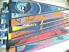 BASKETBALL NBA PENNANTS,ASSORTED TEAMS, FULL SIZE,,BEST PRICE $3.99 & UP
