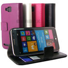 Wallet Leather Case With Card Slots + Film For SAMSUNG ATIV S i8750 T899 -n2