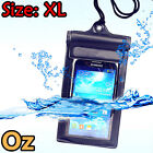 Waterproof Mobile Pouch, XL Size VELCRO&ZIP-PAK Locking System for Any Phone