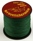 100%PE Dark Green Dyneema Spectra Fishing Braid Line 100M/300M/500M/1000M