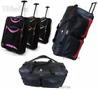 Lightweight Travel Wheeled Bag Holdall Suitcase Cabin Hand Luggage Trolley Sack