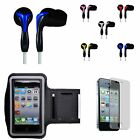 iPod Touch 4 Sports Armband + Headset + Screen Guard for Gym Jogging Workout