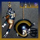 NFL ST. LOUIS RAMS FAULK FIGURE & CHOICE OF HELMET OR CAP CEILING FAN PULLS on eBay