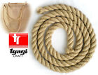 NATURAL JUTE ROPE HEAVY DUTY FOR DECKING ,GARDEN, BOAT,TUG OF WAR, CLIMBING 20MM