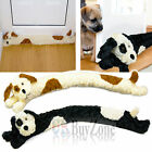 Novelty Dog Design Soft Micro Fleece Draught Draft Excluder Door Window Cushion