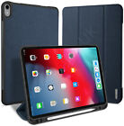 iPad Air 10.9 2020 Smart Wake Sleep Premium Magnetic Case Cover Pencil Holder
