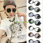 50s Vintage Steampunk Sunglasses Round Glasses Cyber Goggles Retro Style Blinde