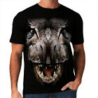 T-Rex Dinosaur New Mens Women T-Shirt Jurassic Age Warrior Big Face *h211