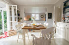 Table & 6-8 Chairs (Kitchen, Dining, Options, Solid Pine, Shabby Chic, Drawer, 4