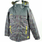 Boy's dare2b Top Banana Iron Grey Pattern Waterproof Ski Wear and Winter Jacket.