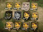 MGS Metal Gear Solid FOX Hound Morale tactics Embroidery Patch