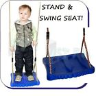 FOOT SWING! - PLASTIC KIDS SWING SEAT- WITH ROPES for CLIMBING FRAME FREE P&P !!