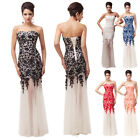 2014 New Long Lace Strapless Wedding Bridal Dresses Formal Party Ball Gown Dress