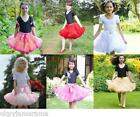 Girls Children's Frothy Tutu Ballerina Dance Fancy Dress up Costume Outfit