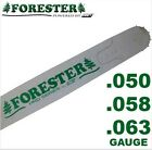 "Forester Replacement Chainsaw Bar 24"" For Husqvarna Fits Large Mount, 3/8 Pitch"
