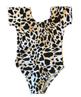 Leotard Dance Toddler One Size fits 4T 5T 6 Animal Print Solids Cotton Blend фото