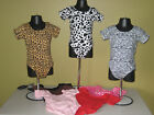 Внешний вид - Leotard Dance Toddler One Size fits 4T 5T 6 Animal Print Solids Cotton Blend