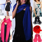 CHIFFON FORMAL COCKTAIL BRIDESMAID EVENING BEACH SCARF/SHAWL AU SELLER SC027