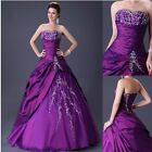 Retro Vintage Long Slim Evening Homecoming Formal Ball Gown Party Wedding Dress