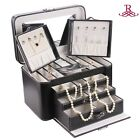 ROWLING Jewelry Box Organizer Ring Pendant Necklace Watch Organizer Armoire