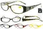 Georgio Caponi  Rose Cut Out Temple Reading Glasses  Readers +  FREE GIFT