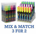 NEON COLOURED LIQUID CHALK MARKERS Blackboard Window Writer Glass Paint Pens