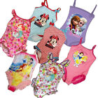 Girls Disney Frozen Minnie Mouse Tinkerbell Fairies Princess Swimsuit Costume