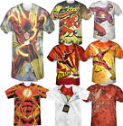 Men's Adult Licensed Marvel DC Comic Book Tee T-Shirt Short Sleeved The Flash