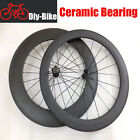 Ceramic Bearing HUBS,60+88mm clincher carbon wheels/carbon bike racing wheelset
