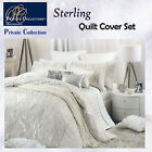 STERLING White Quilt Cover Set by Private Collection - QUEEN KING Super King
