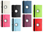 360 Rotary Stand Funtion PU Leather Whole Cover Case For Many Laptop Tablet