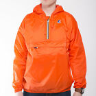 Mens K-Way Leon Classic Flame Half Zip Waterproof Jacket