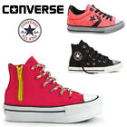 LADIES WOMENS GIRLS JUNIORS CONVERSE CHUCK TAYLOR HI LO LACE UP TRAINERS SHOES