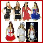 MEN'S & WOMEN'S FANCY DRESS UNIFORM COSTUMES ARMY FLIGHT ATTENDANT DOCTOR PRIEST