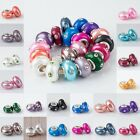 WHOLESALE CLEAR CRYSTAL FIMO POLYMER CLAY EUROPEAN BEADS FIT CHARM BRACELET