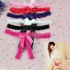 Lace Sexy Open Crotch Panties Briefs Lingerie Thong Underwear Womens Ladies BF00