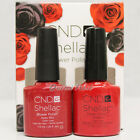 CND Shellac Perfect Pair - Choose RUBY RITZ or WILDFIRE Holiday Collection 2013