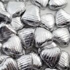 FOIL WRAPPED MILK CHOCOLATE HEARTS HIGH QUALITY WEDDING PARTY TABLE FAVOURS